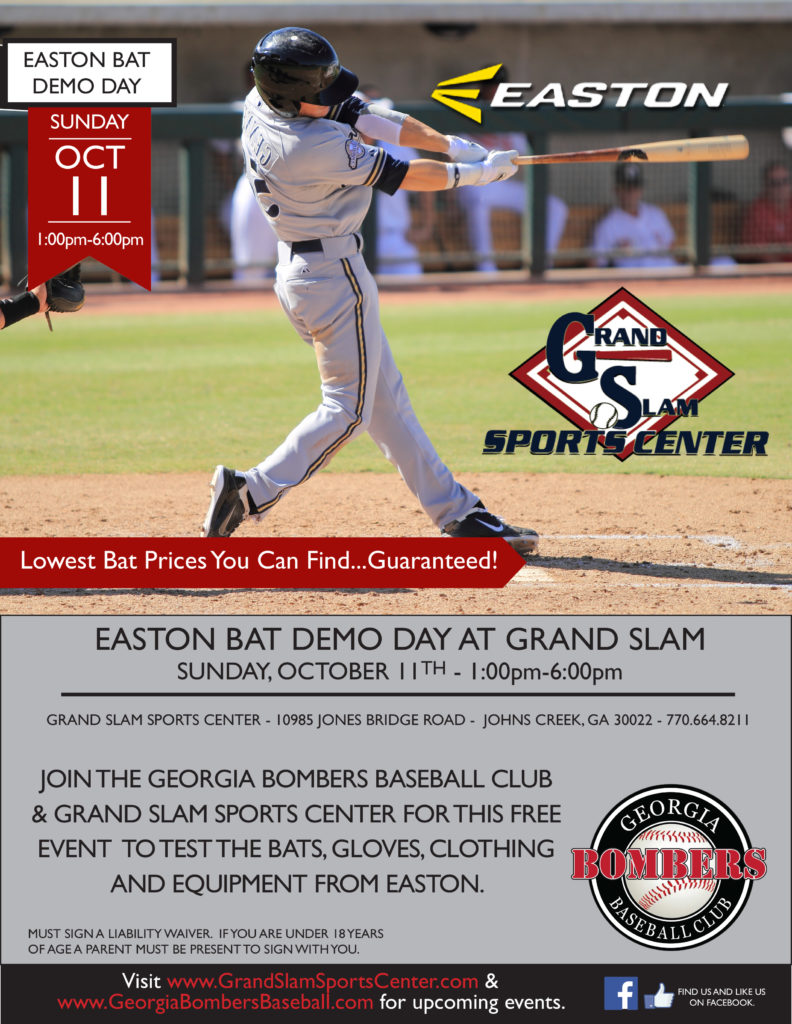 bat demo flyer