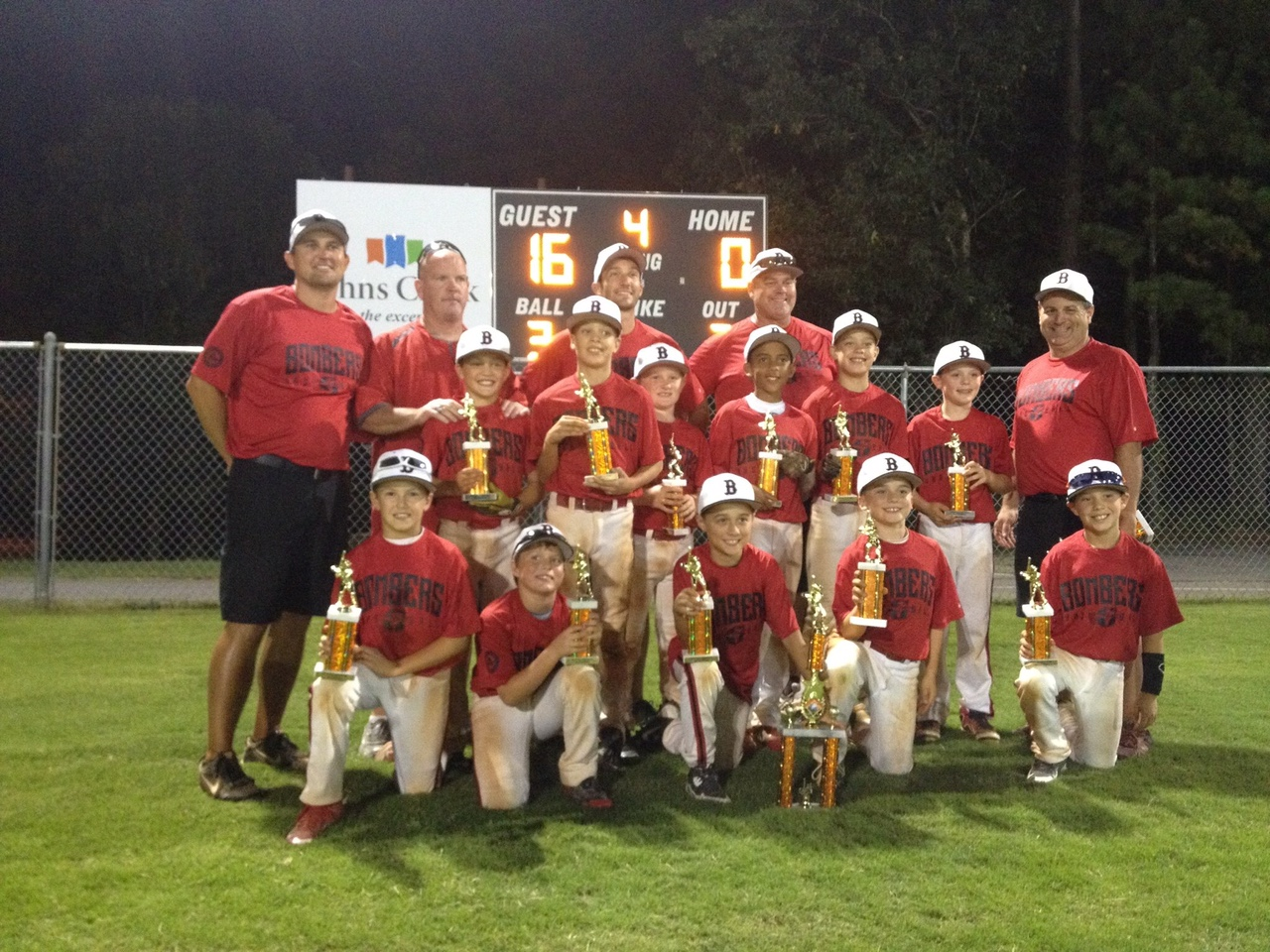 10U (Davis) Wins Ocee Park Fall Bash