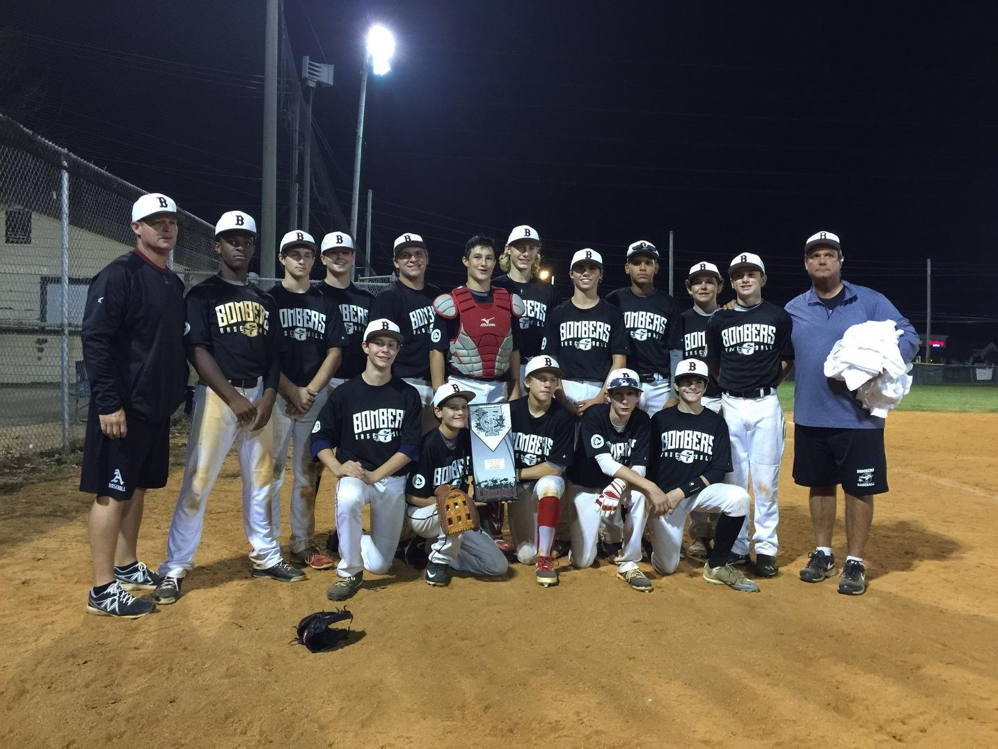 Bombers 14U Program Wins Two Championships On Same Day