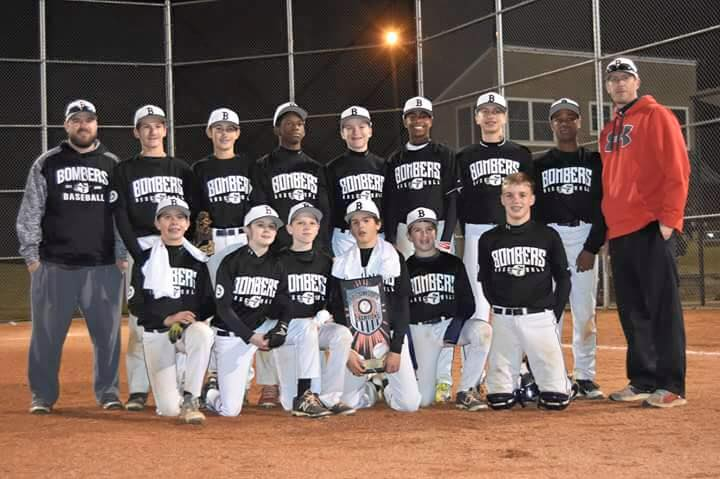 Bombers 13U (Hill) Take Triple Crown Sunday Series Finale