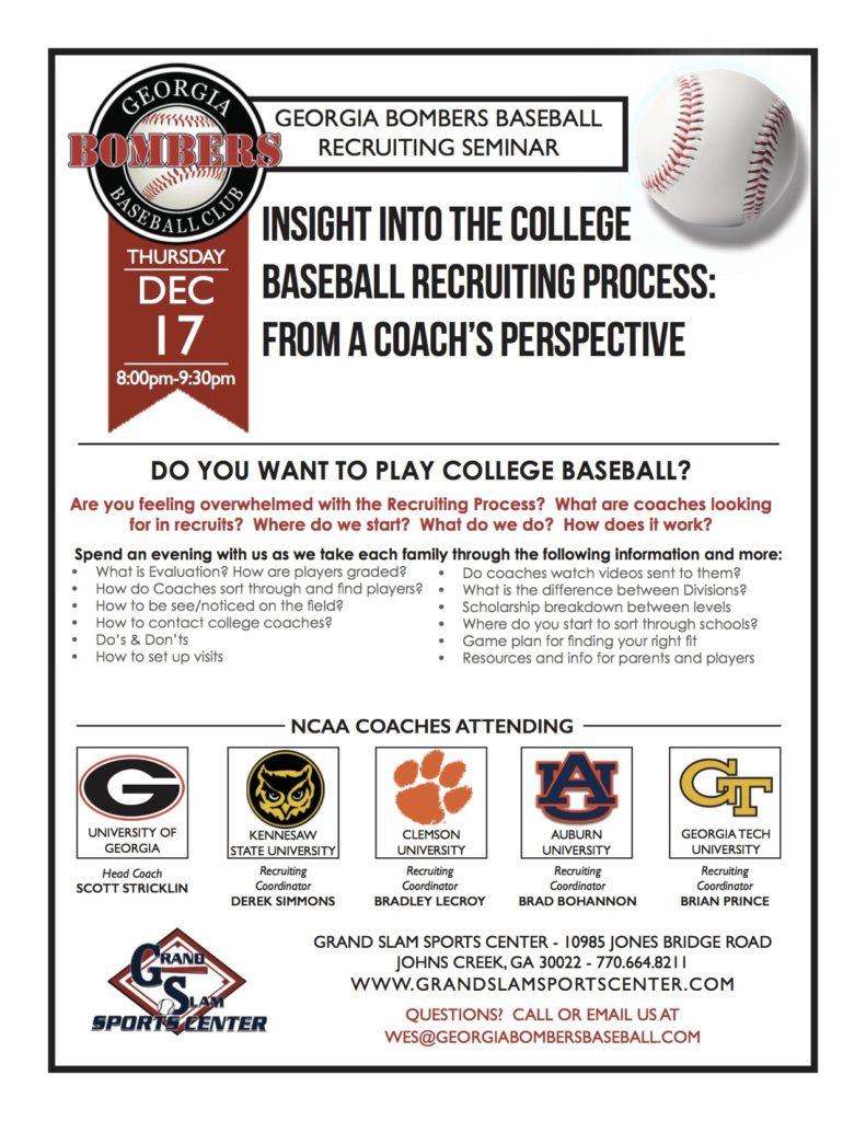 recruiting flyer