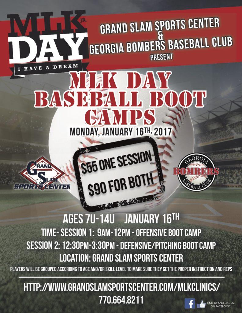 mlk day camp flyer 2017
