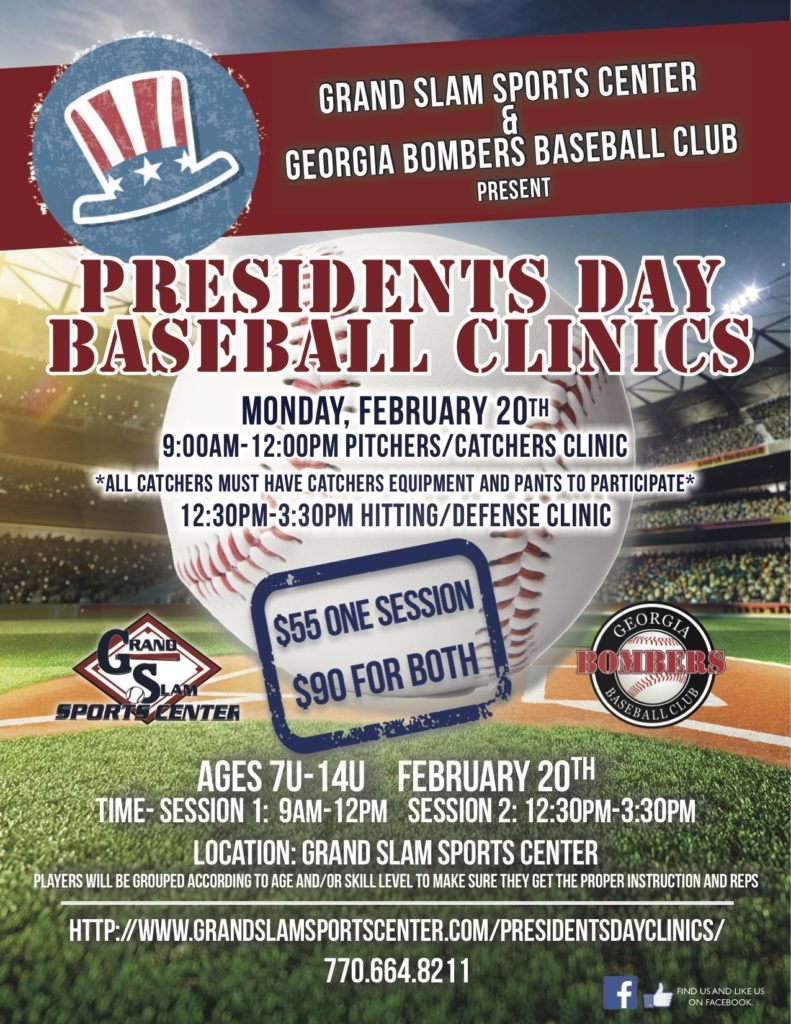 presidents day camp flyer 2017