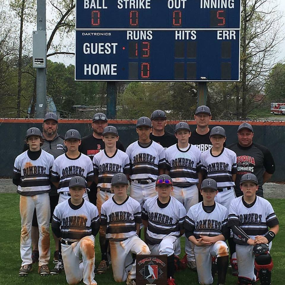 Bombers 12U (Hudson) Brings Home Triple Crown Easter Hardware
