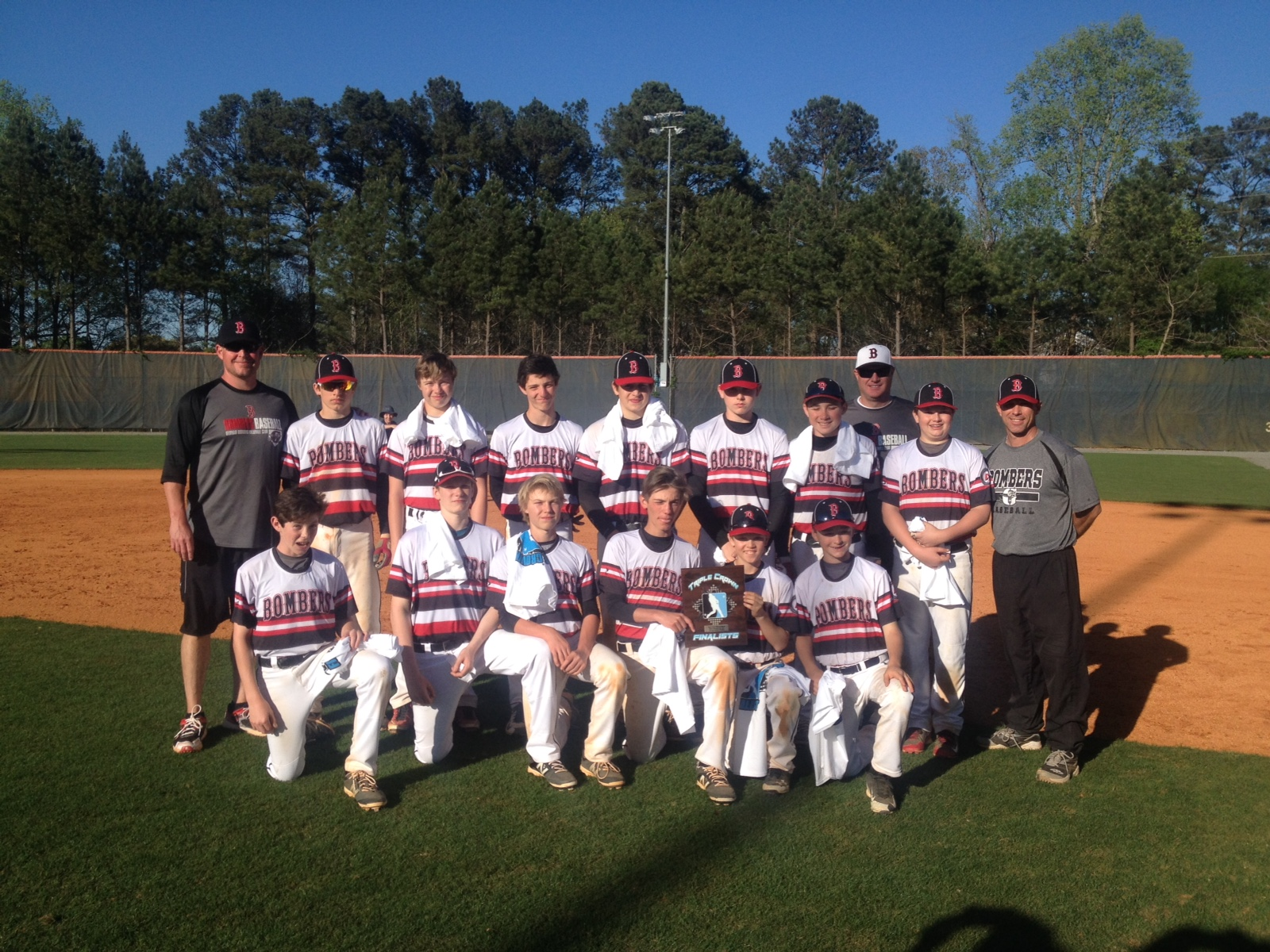 Bombers 13U (Alvarez) finish Runner-Up in Triple Crown