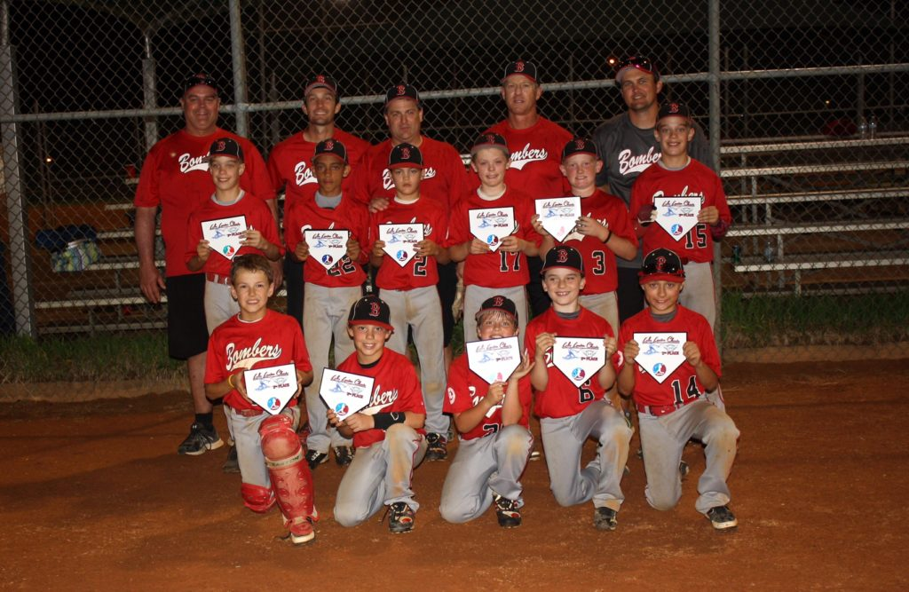 Bombers 10U (Davis) Finish 2nd In Lake Lanier Classic
