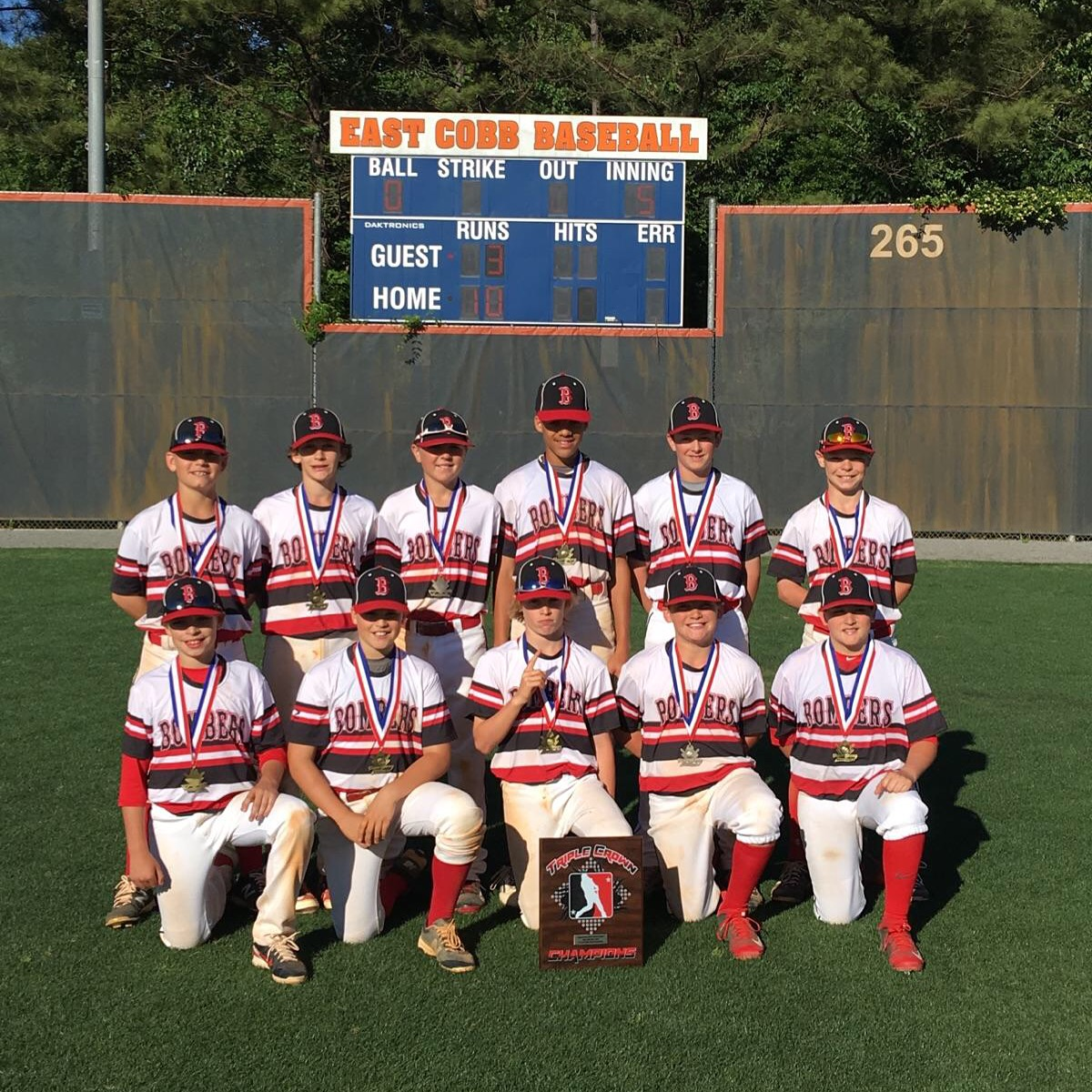 Bombers 12U (Hudson) takes Triple Crown North Atlanta Open with BIG Sunday