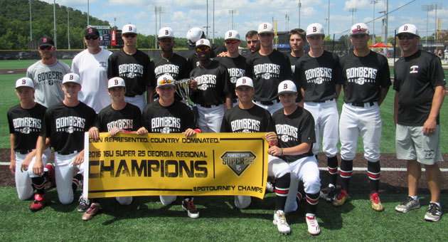 Bombers 16U (Rynders) captures Perfect Game Super 25 Regional Title