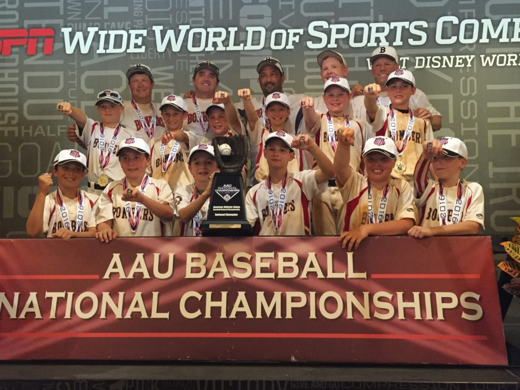 11U McNeillie On A Successful Season Of Tough Completion And Finishing As The AAU National Champions Down At Disneys Wide World Sports In Orlando