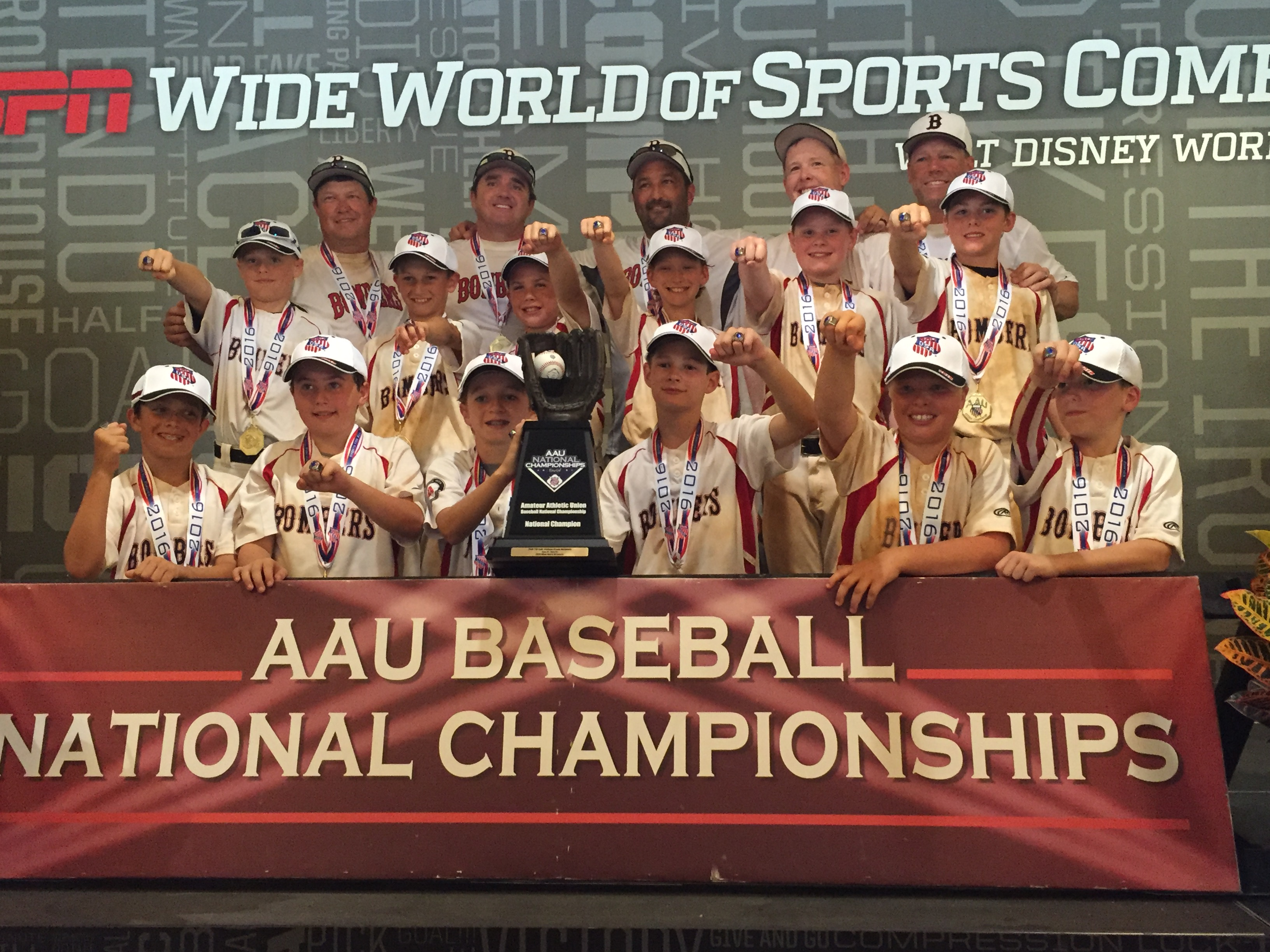 Bombers 11U (McNeillie) wins AAU National Championship