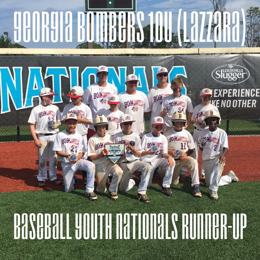 Bombers 10U (Lazzara) finishes Runner-Up at Baseball Youth Nationals