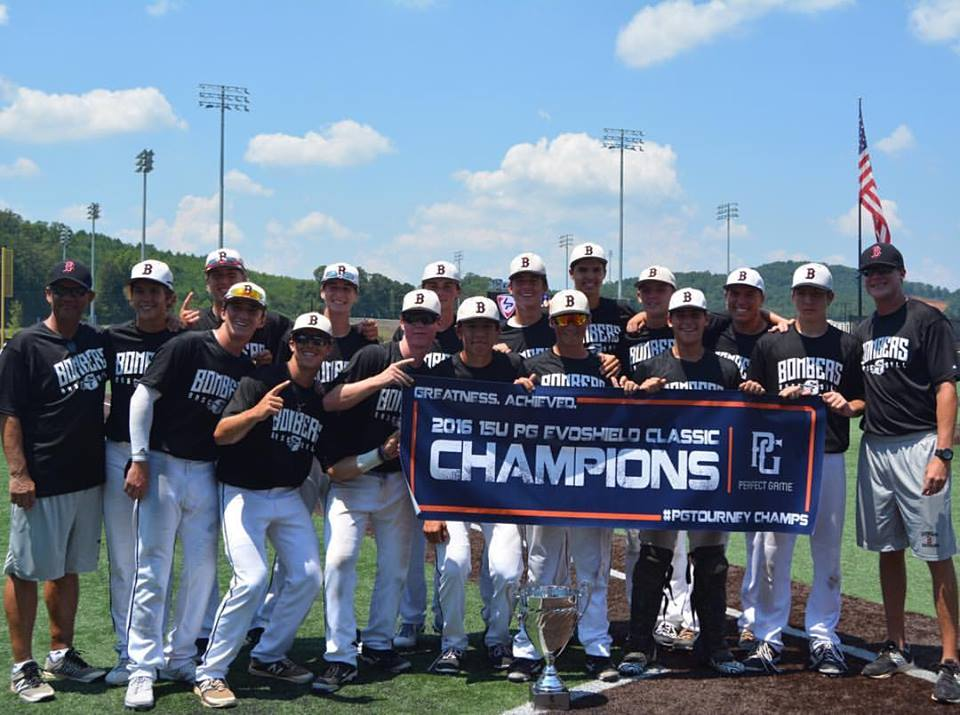 Bombers 15U (White) takes Perfect Game Evoshield World Series