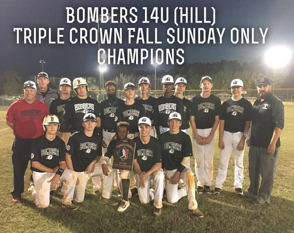 Bombers 14u (Hill) takes Triple Crown Sunday Series #6 Ship'