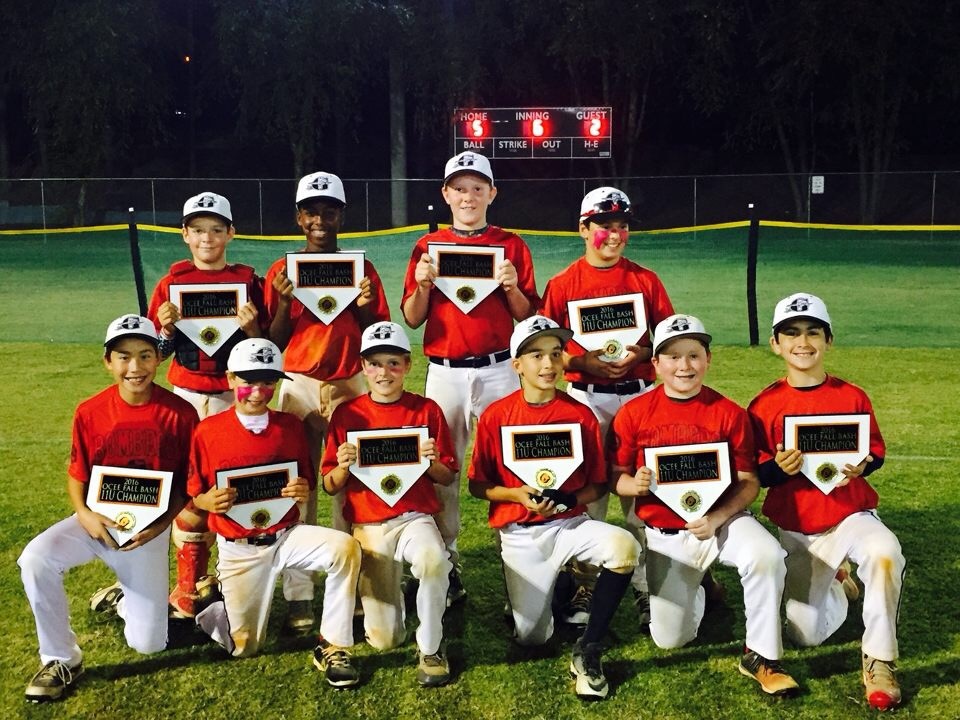 Bombers 11U (Lazzara) takes Ocee Fall Bash