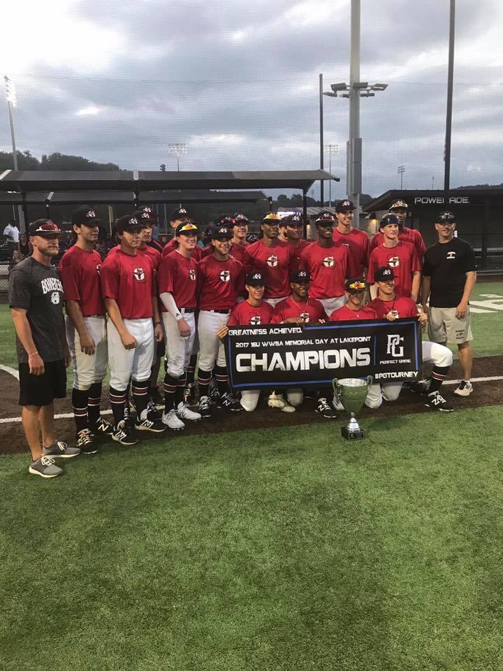 Bombers 16U (Rynders) wins WWBA Memorial Day Classic