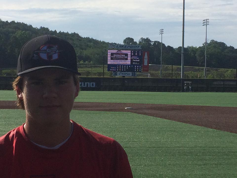 Blake Renner Throws Perfect Game In WWBA Memorial Day Classic Semis
