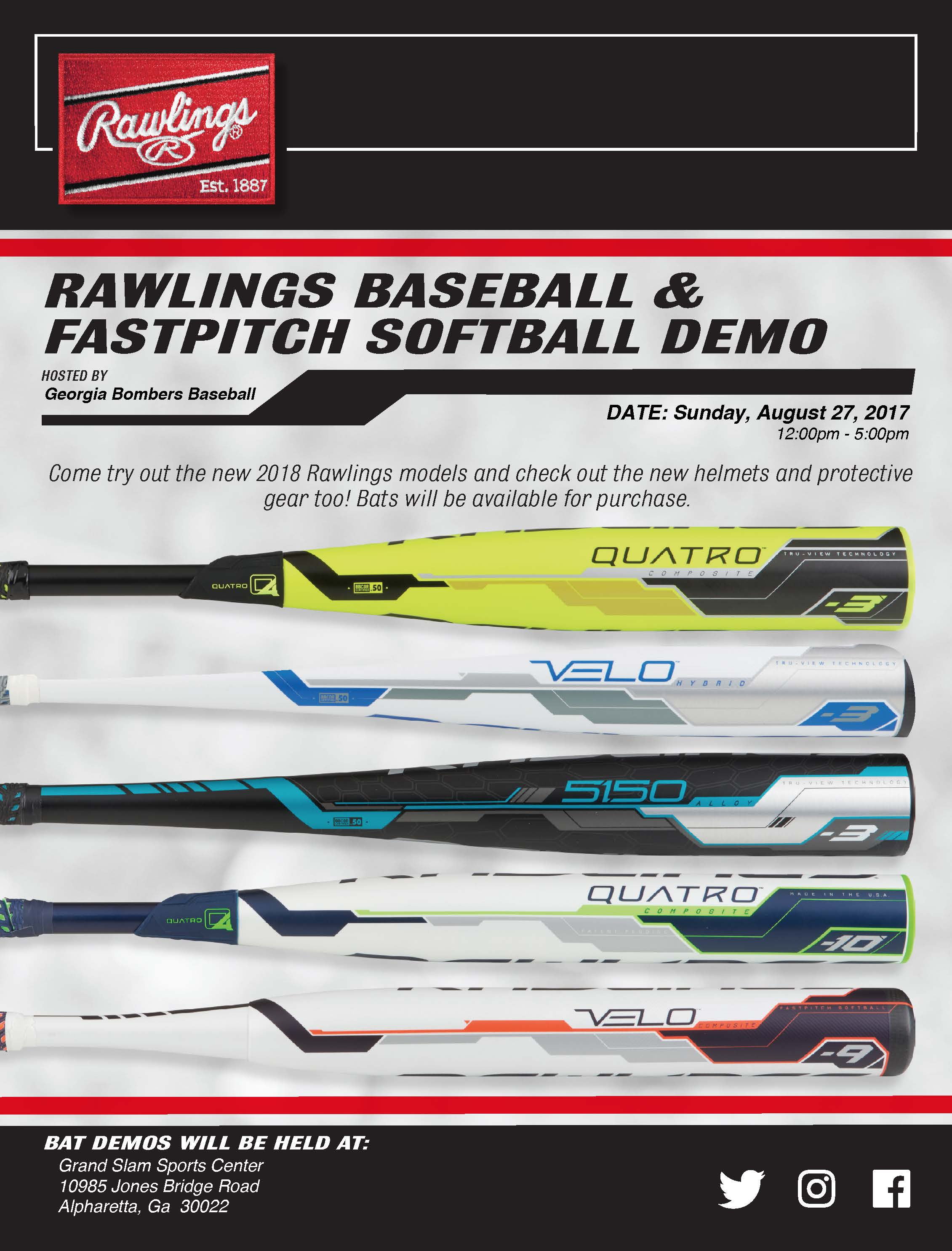 Rawlings Demo Day – September 27