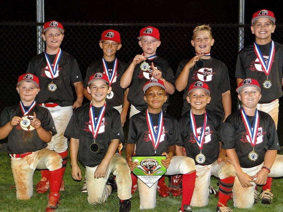 Bombers 9U (Mentzer) Wins 10U Training Legends