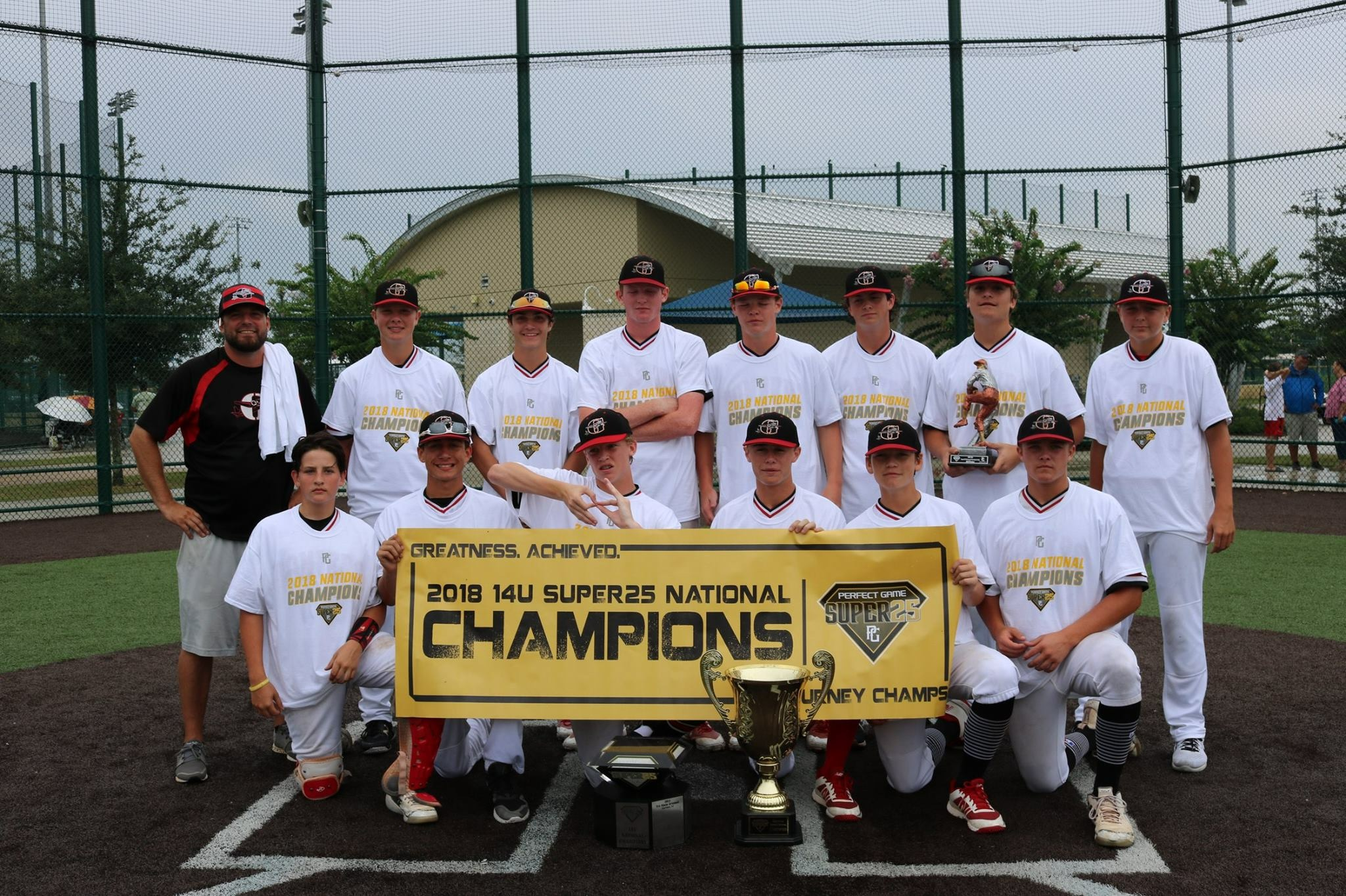 Bombers 14u Wins PG Super 25 National Championship